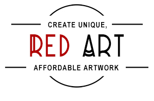 RED ART - Create Unique Affordable Artwork