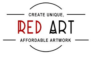 RED ART - Create Unique Affordable Artwork