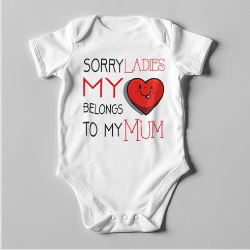 B11 Short Sleeve Baby Bodysuit