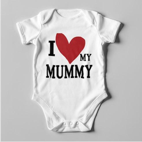 B16 Short Sleeve Baby Bodysuit