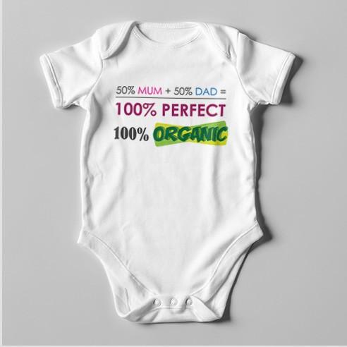 B26 Short Sleeve Baby Bodysuit