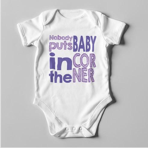 B28 Short Sleeve Baby Bodysuit