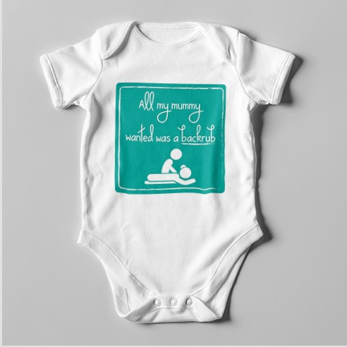 B31 Short Sleeve Baby Bodysuit