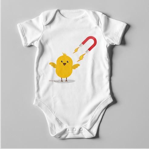 B34 Short Sleeve Baby Bodysuit