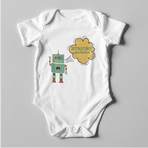 B35 Short Sleeve Baby Bodysuit