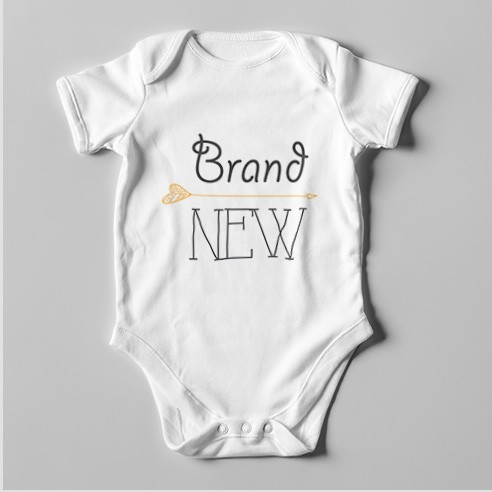 B36 Short Sleeve Baby Bodysuit