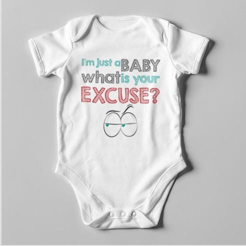 B38 Short Sleeve Baby Bodysuit