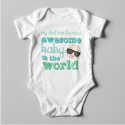 B40 Short Sleeve Baby Bodysuit