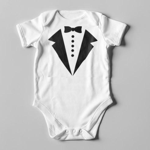 B07 Short Sleeve Baby Bodysuit