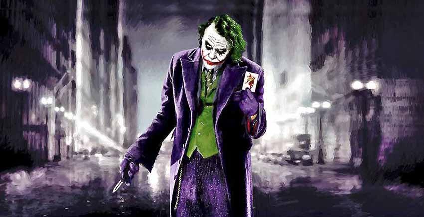 R1393 Joker Canvas Wall Art Canvas Print Pop Art