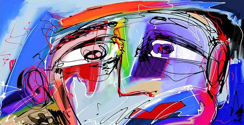 R2154 Canvas Wall Art Canvas Print