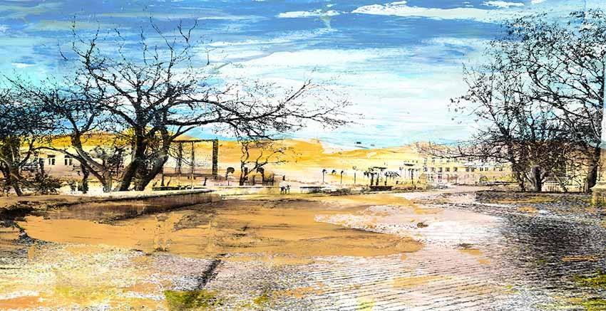 R2801 Canvas Wall Art Canvas Print