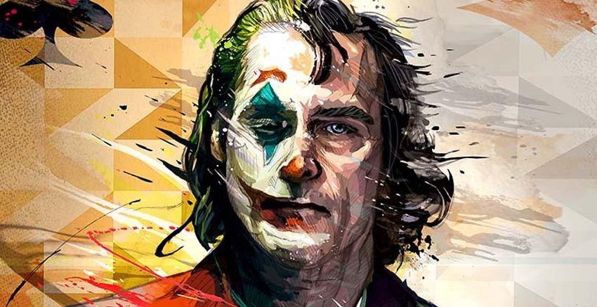 R3102 Joker Canvas Wall Art Canvas Print