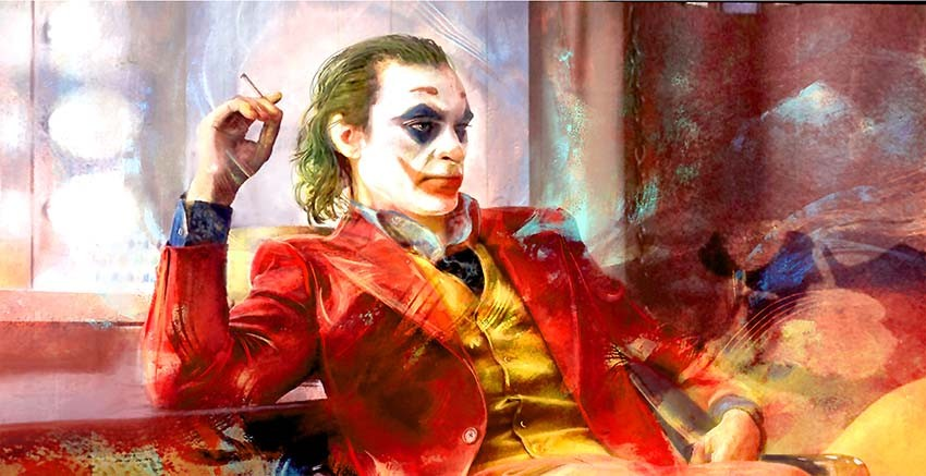 Joker Canvas Wall Art online London