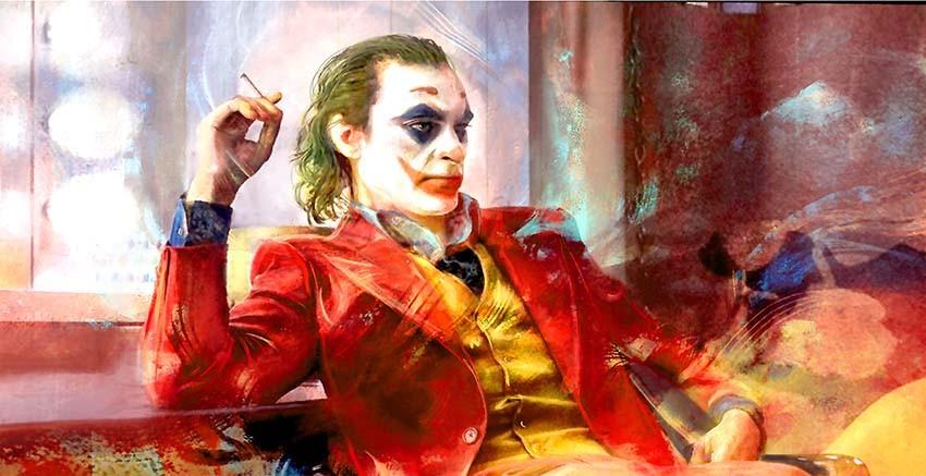 R3201 Joker Canvas Wall Art Canvas Print
