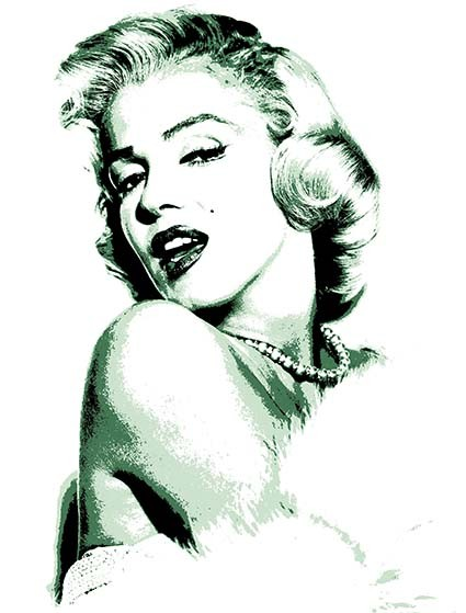 T100 Regular Fit Printed T-Shirt Marilyn Monroe