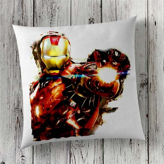 C10 Cushion Cover Sublimation Print Ironman