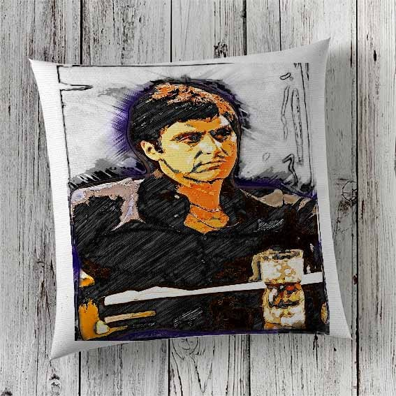 C11 Cushion Cover Sublimation Print Al Pacino