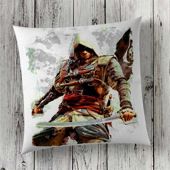 C13 Cushion Cover Sublimation Print Assassin's Creed