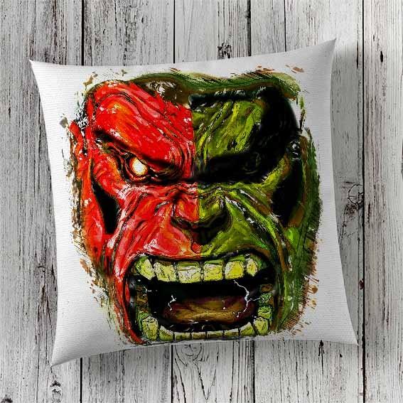 Cushion Cover Print Hulk