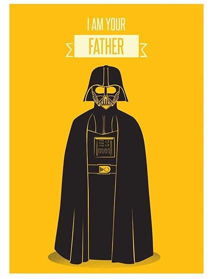 T195 Regular Fit Printed T-Shirt Darth Vader
