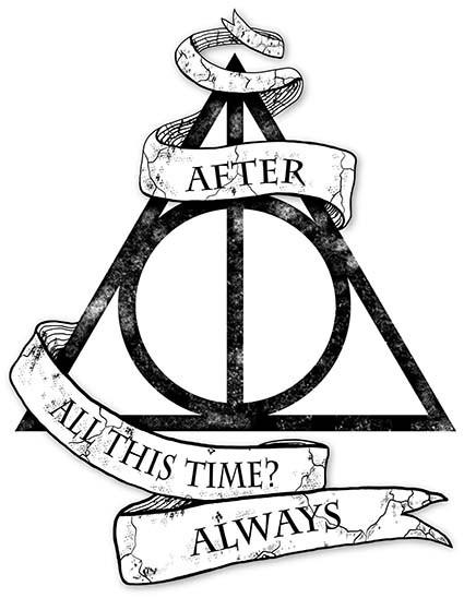 T198 Regular Fit Printed T-Shirt Harry Potter