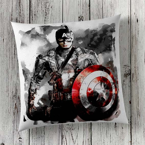 C19 Cushion Cover Sublimation Print Captain America