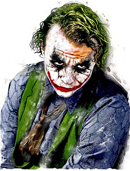 T20 Regular Fit Printed T-Shirt Joker