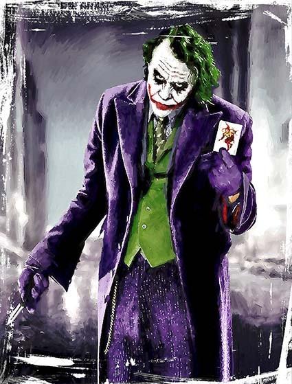 T226 Regular Fit Printed T-Shirt Joker