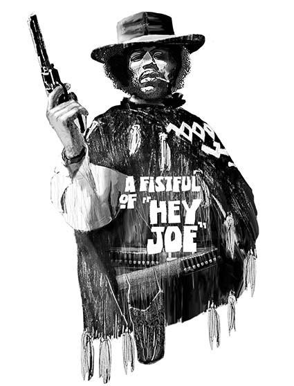 T233 Regular Fit Printed T-Shirt Jimi Hendrix