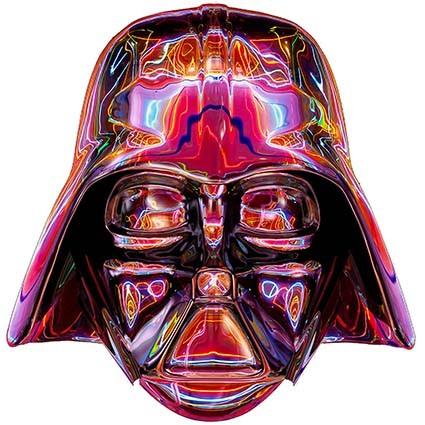 T244 Regular Fit Printed T-Shirt Darth Vader