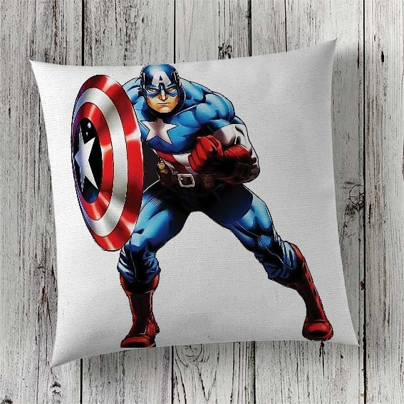C24 Cushion Cover Sublimation Print Captain America