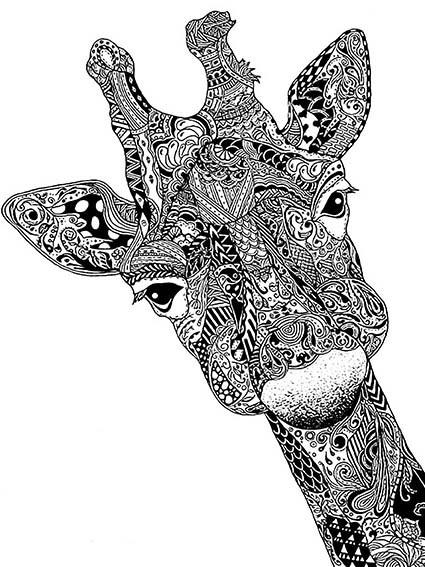 T270 Regular Fit Printed T-Shirt Giraffe