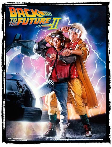 T281 Regular Fit Printed T-Shirt Back to the Future