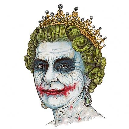 T289 Regular Fit Printed T-Shirt Joker Queen