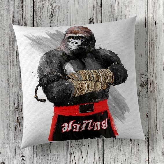 C28 Cushion Cover Sublimation Print Gorilla