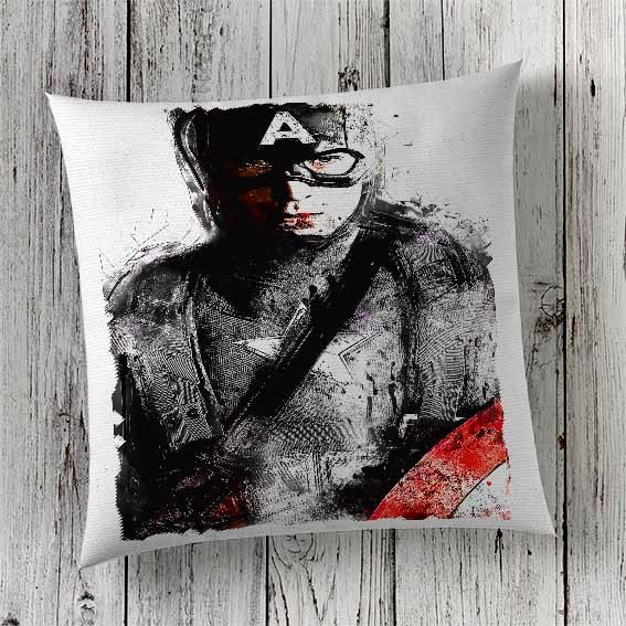 C2 Cushion Cover Sublimation Print Captain America