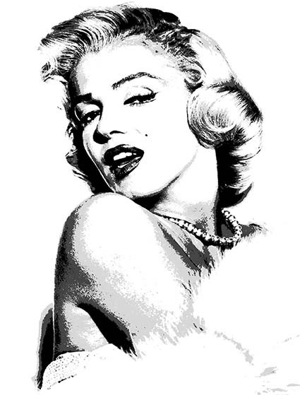 T30 Regular Fit Printed T-Shirt Marilyn Monroe