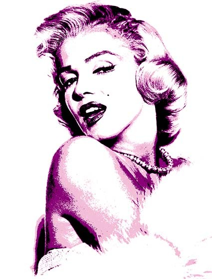 T32 Regular Fit Printed T-Shirt Marilyn Monroe
