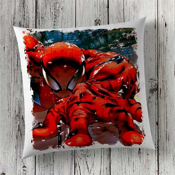 C33 Cushion Cover Sublimation Print Spiderman