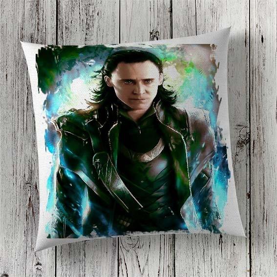C35 Cushion Cover Sublimation Print Loki