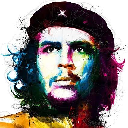 T385 Regular Fit Printed T-Shirt Che Guevara