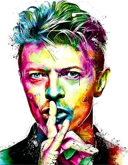 T396 Regular Fit Printed T-Shirt David Bowie