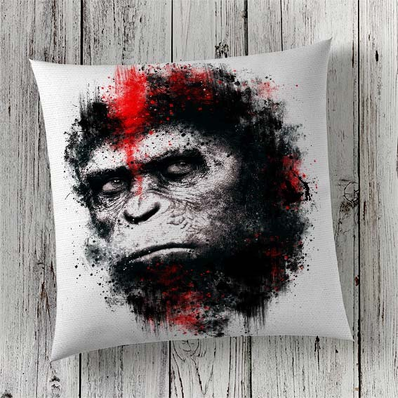 C41 Cushion Cover Sublimation Print Planet of the Apes
