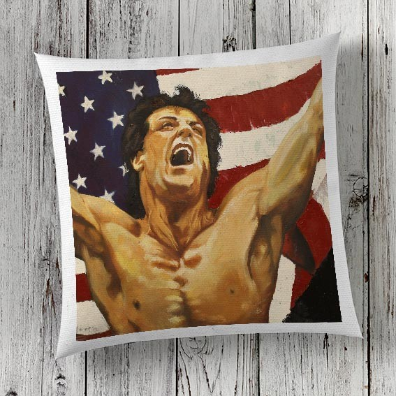 C44 Cushion Cover Sublimation Print Rocky
