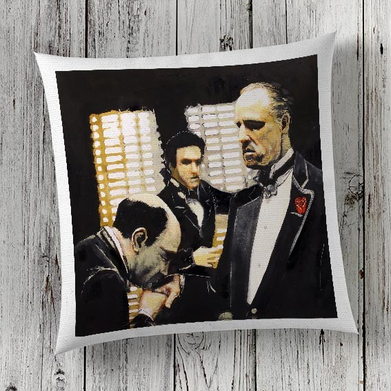 C45 Cushion Cover Sublimation Print Godfather