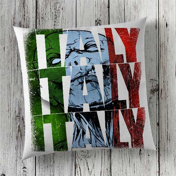 C47 Cushion Cover Sublimation Print Italy