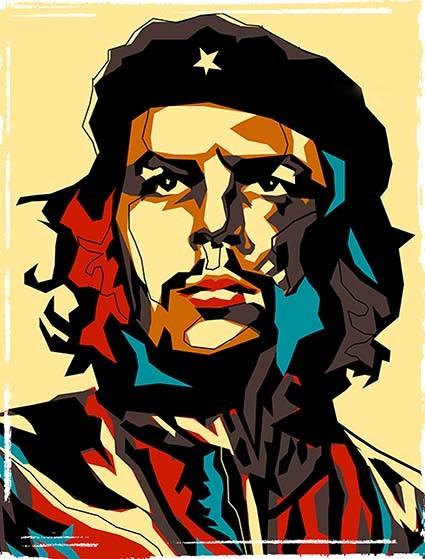 T480 Regular Fit Printed T-Shirt Che Guevara