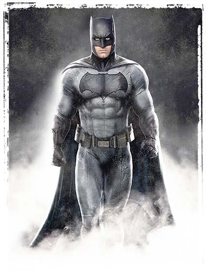 T495 Regular Fit Printed T-Shirt Batman