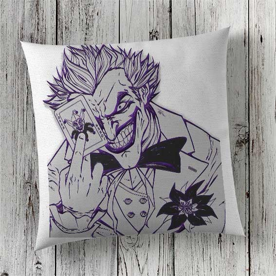 C54 Cushion Cover Sublimation Print Joker